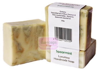 Spearmint - iluvsoaps Singapore