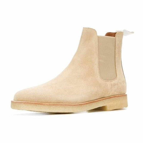 Men's Chelsea Boots Genuine Leather Handmade Luxury