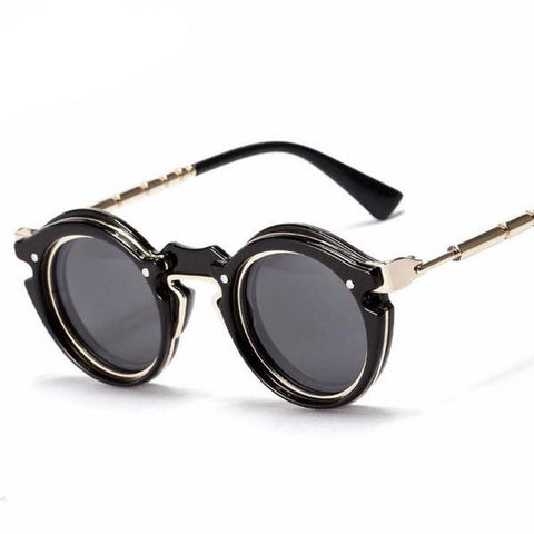 New Gothic Steampunk Sunglasses UV400 - God Republic