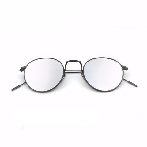 Retro Round Mirror Sunglasses - God Republic