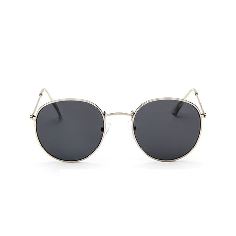 Reflective Round Sunglasses - God Republic