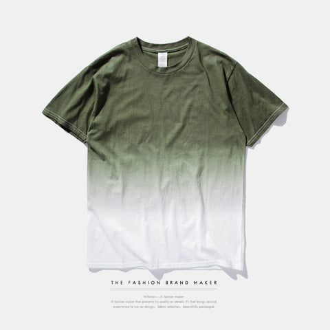 Men Dip Dye Hip-Hop Tee - God Republic