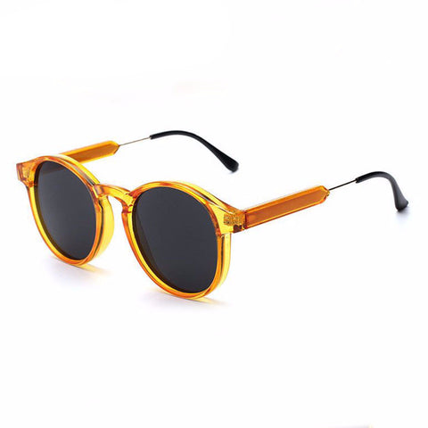 Retro Classic Round Sunglasses - God Republic