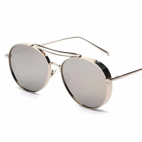 Classic Retro Double Bridge Sunglasses
