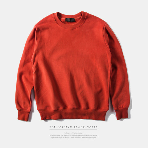 Men Crewneck Plain Sweatshirt - God Republic
