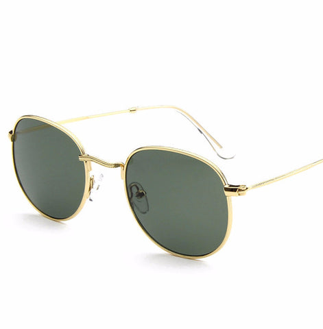 Unisex Retro Round Sunglasses