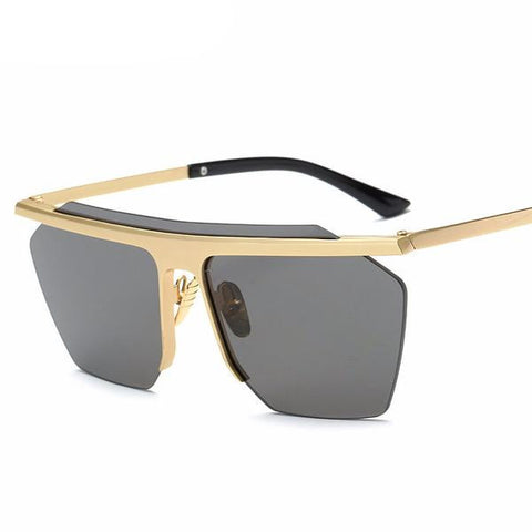 Unique Frame Square Sunglasses UV400 - God Republic