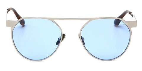 Unique Frame Round Sunglasses UV400