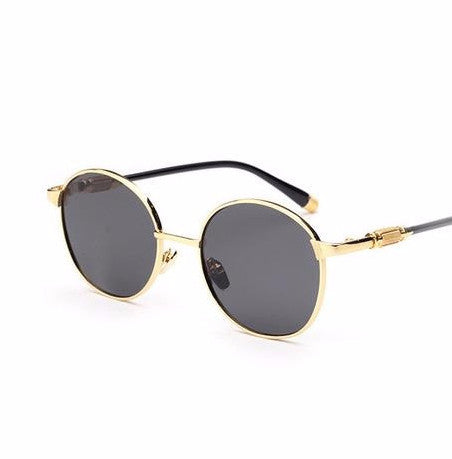 Vintage Steampunk Metal Frame Sunglasses