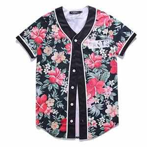 Baseball T-Shirts Short Sleeve Multi Color