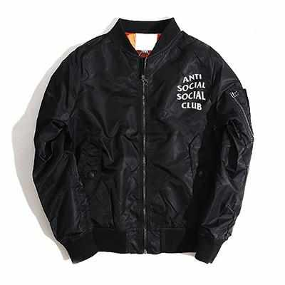 """ASSC"" Flight Bomber Jacket - God Republic"