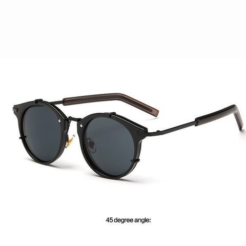 Retro Round Sunglasses  UV400 - God Republic