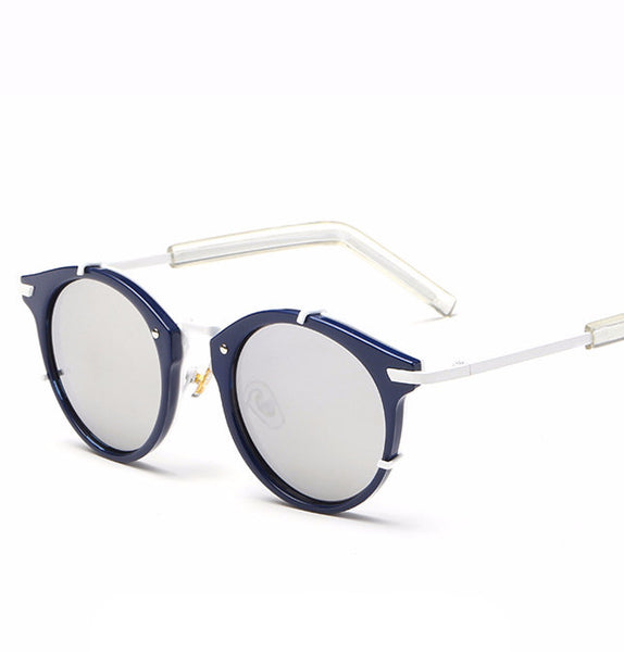 Retro Round Sunglasses UV400