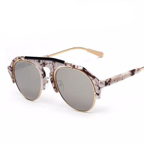Men Semi-Rimless Sunglasses