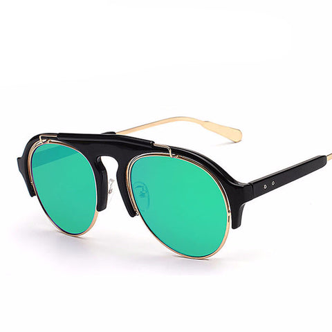 Men Semi-Rimless Sunglasses - God Republic