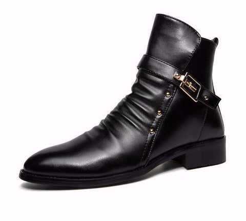 men leather boots