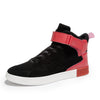 Men High-Top Gold Cuffs Breathable Sneakers