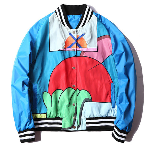 Unisex Retro Bomber Jacket - God Republic