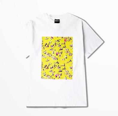 Art Printed Crewneck T-Shirt