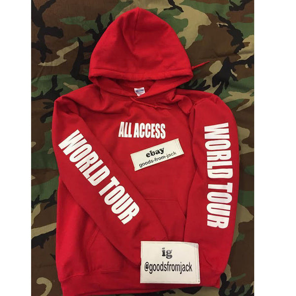 PURPOSE TOUR All Access Hoodie