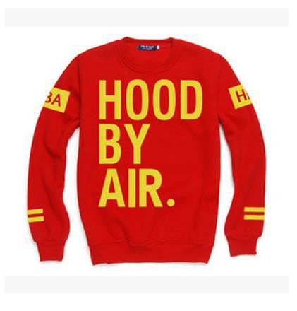 Men EXO HBA Hoodie Sweatshirts Do You Love Me Hood By Air EXO Kanye West