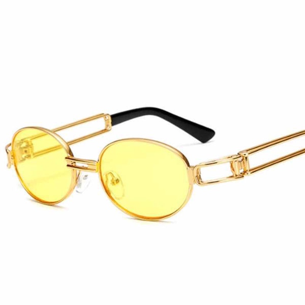 2017 Metal Frame Steampunk Sunglasses Women Brand Designer Unique Men Gothic Sun glasses Vintage Oculos De Sol Feminino 7 Color