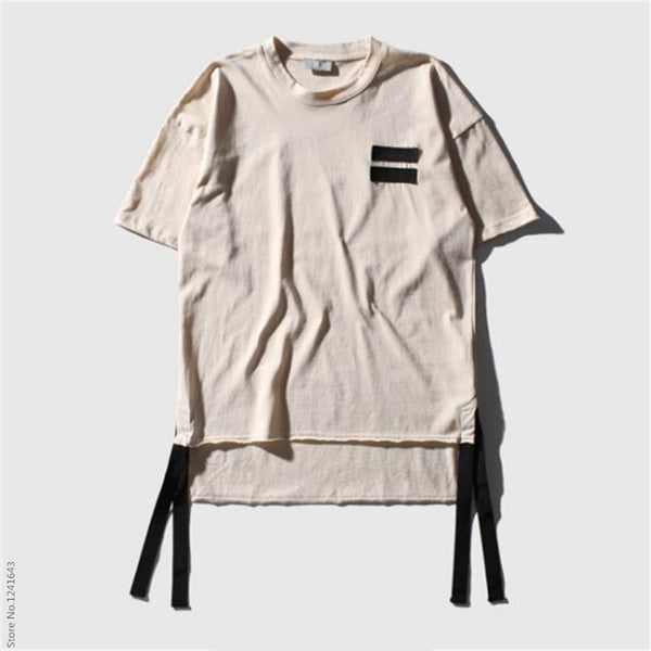High quality Japan South Korea style summer men clothing cotton T-shirt green black beige color shirts Male short sleeve