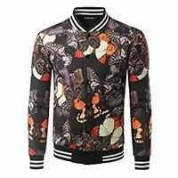 Men MA1 Pilot Kanye West Casual Chinese Printed Bomber Jacket 20 Colors