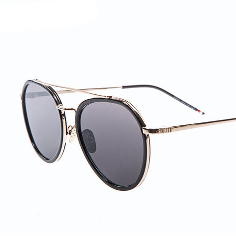 Twin-Beams Aviator Sunglasses