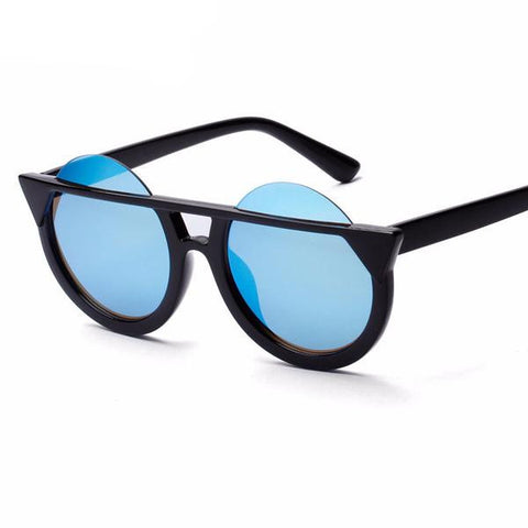 Unique Frame Round Sunglasses UV400 - God Republic