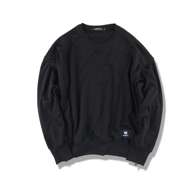 Punk - O Neck Long Sleeve Sweatshirt