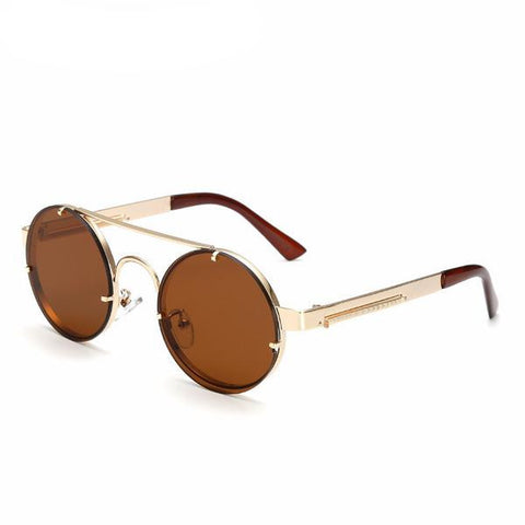 Steampunk Round Sunglasses - God Republic