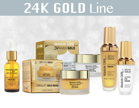 24 Karat Gold Treatment