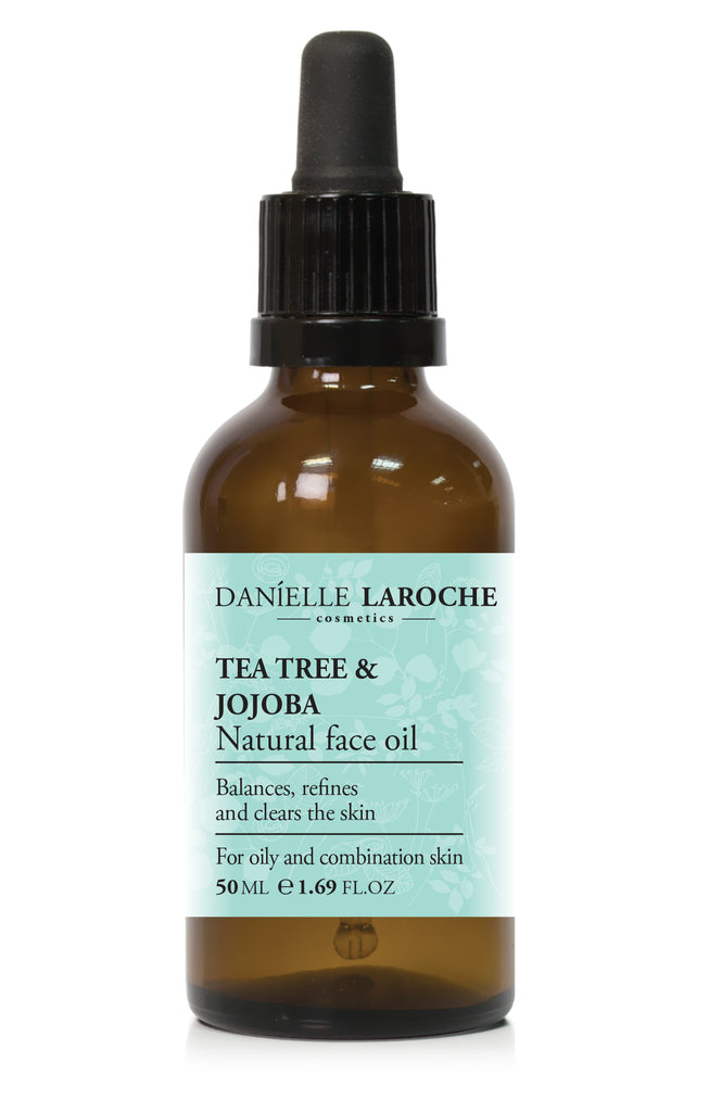 Tea Tree & Jojoba Natural Face Oil