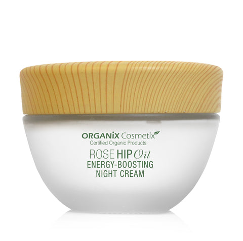 Rose Hip Oil Energy-Boosting Night Cream