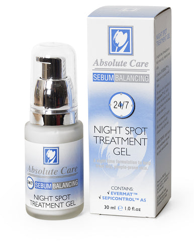 24/7 Sebum Balancing - Night Spot Treatment Gel