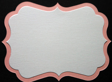 4 Bar Bracket Card for Invitation