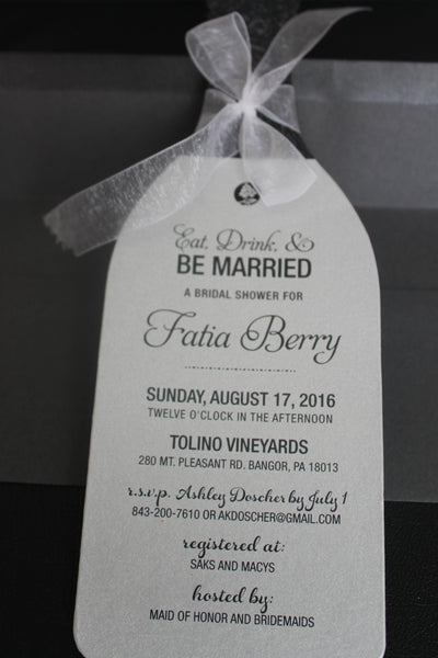 Wine Party Invitation