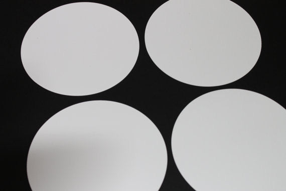 Paper Circles - 4 inches (25/pk)