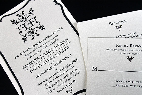 Wedding Anniversary Invitation | Romantic Wedding Invitation