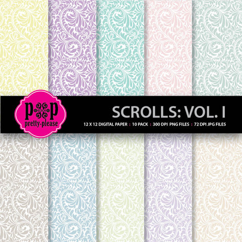 Scrolls Digital Paper