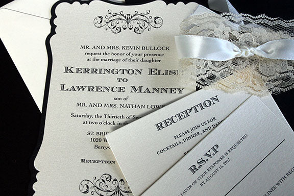 Wedding Invitation | Wedding Anniversary Invitation | Rustic Wedding Invitation