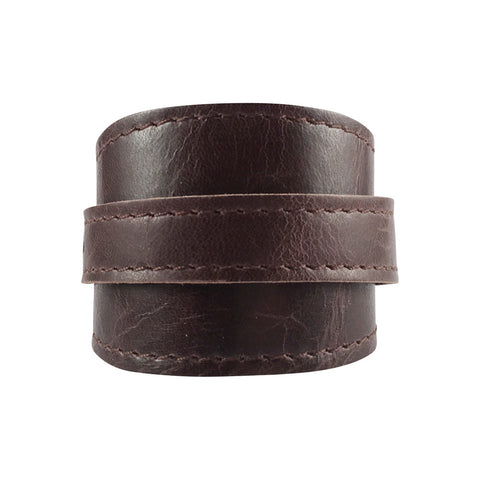 Vintage Brumby Leather Crop Cuff