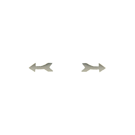 Sterling Silver Arrow Studs