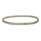 Sterling Silver Beaten Bangle