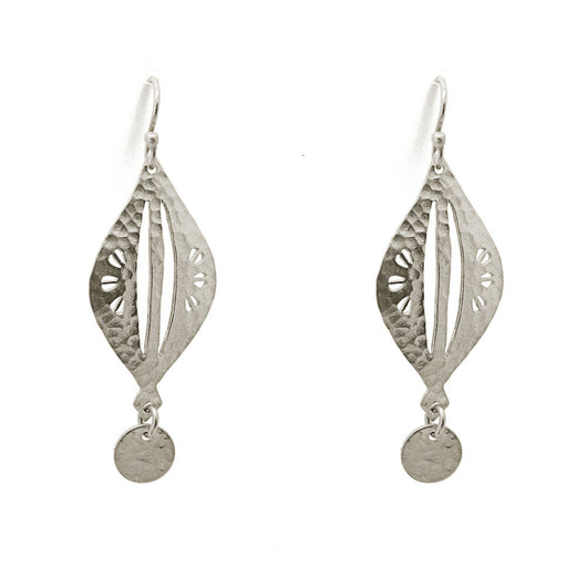 Sterling Silver Moroccan Pod Earrings
