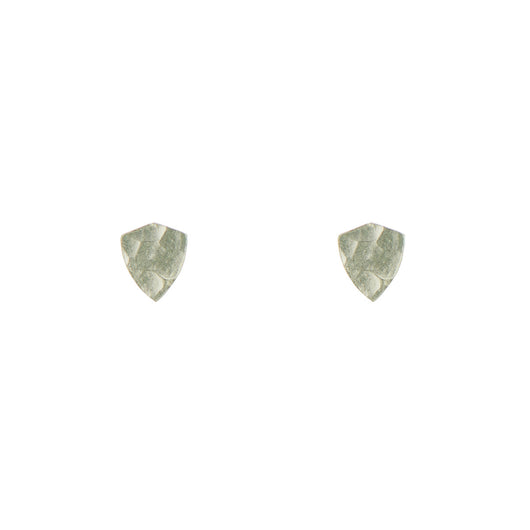 Sterling Silver Shield Studs