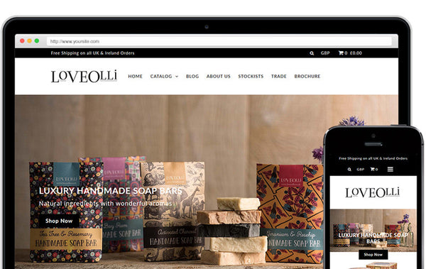 Love Olli - New Website