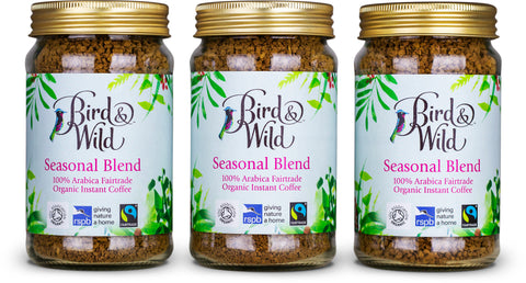 Bird & Wild Instant Coffee Fairtrade Organic RSPB