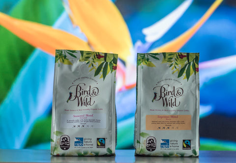 Bird and Wild RSPB Coffee Fairtrade Organic Smithsonian Institute Bird Friendly Shade Grown Certified Coffee Beans 3